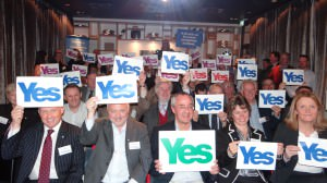 69 business people attended the Glasgow Launch event of Business for Scotland.
