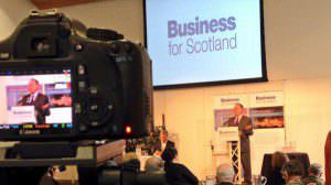 Business for Scotland Vision for Scotland Conference