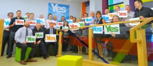 Hundreds of YES Business Ambassadors say Yes but have no one to debate against!