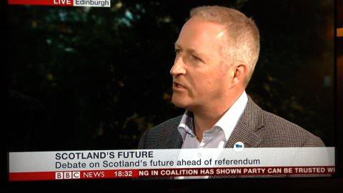 Gordon MacIntyre-Kemp CEO of Business for Scotland