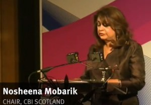 Nosheen Mobarik: appointed to the Better Together Board while CBI Scotland Chair.