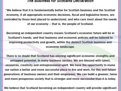A message from 3,000+ YES voting business people