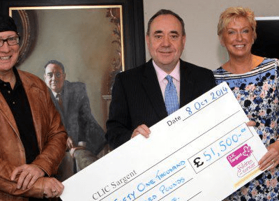 Business for Scotland raises £51,500 for charity