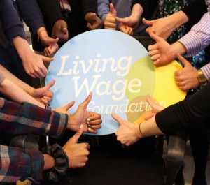The Living Wage Foundation, campaigning for the living wage across the UK