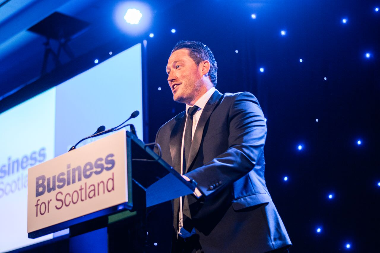 Rob Aberdein Chairman Business for Scotland