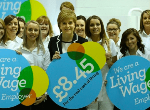 Paying the Living Wage would be one way for businesses to
