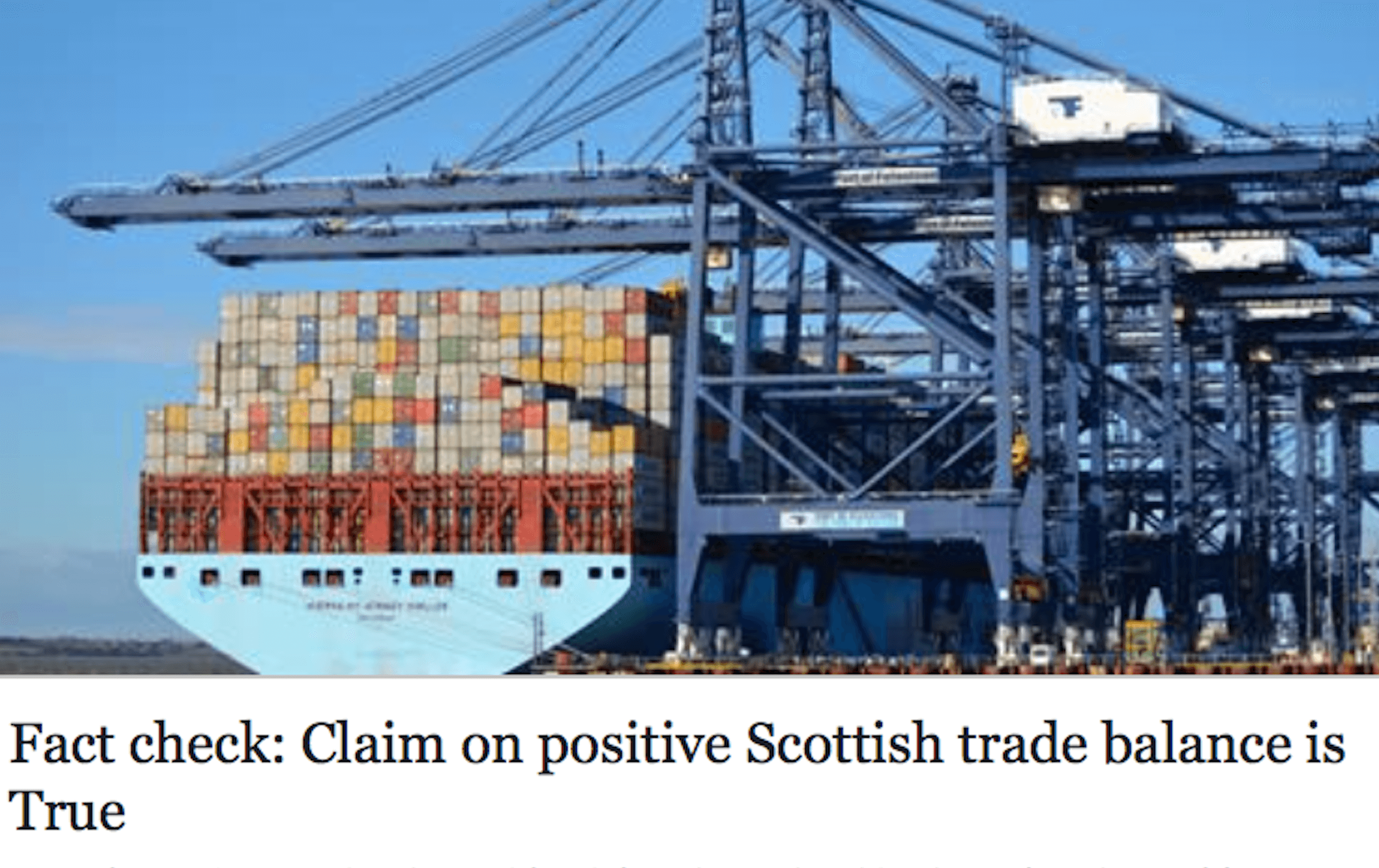 The ferret scotland fact check a flip flopping farcical for Farcical failure